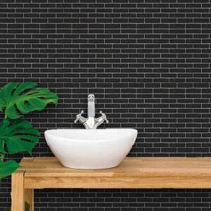 Papel de Parede para Banheiro Adesivo de Parede Tijolos 0001