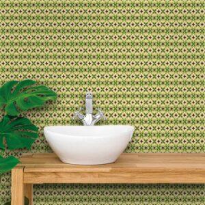 Adesivo de Parede para Banheiro Papel de Parede Hidráulico 0008