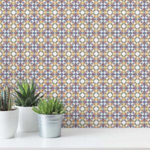 Adesivo de Parede para Banheiro Papel de Parede Azulejo 0003