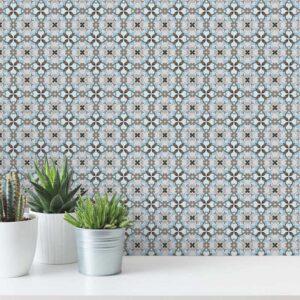 Adesivo de Parede para Banheiro Papel de Parede Azulejo 0025