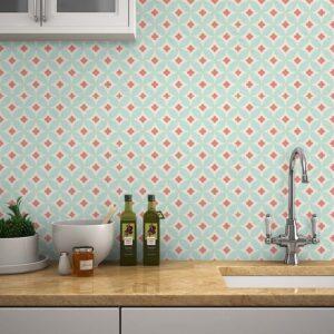 Adesivo de Parede para Banheiro Papel de Parede Azulejo 0005