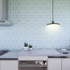 Adesivo de Parede para Cozinha Papel de Parede Azulejo 0024