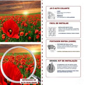 Adesivo de Parede Papel de Parede Campos 0006