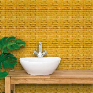 Adesivo de Parede para Banheiro Papel de Parede Pedras 0089