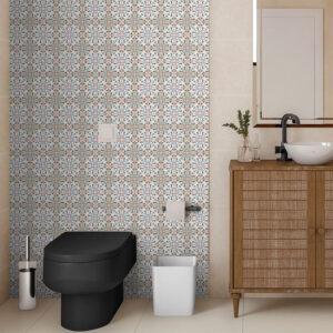 Adesivo de Parede para Banheiro Papel de Parede Azulejo 0030