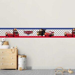 Faixa Border Decorativa Carro Disney 0003