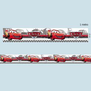 Faixa Decorativa para Quarto de Bebê Carro Disney 0002