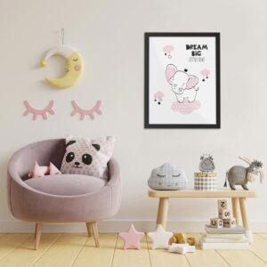Quadros e Molduras Placas Decorativas Bebê 0008