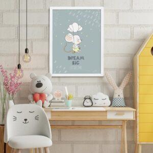 Quadros e Molduras Placas Decorativas Bebê 0016